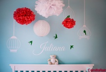 Baby Photography / Red and Blue Nursery