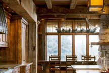 Ahşap dağ evleri