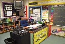 PP  Decorating and Organizing the Classroom / Organizing and decorating the classroom with themes, colors, and age appropriate style and needs is what every primary classroom needs!