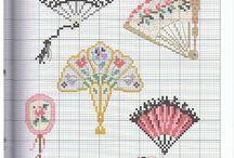 Deštníky vějíře