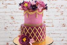 Moroccan cake design