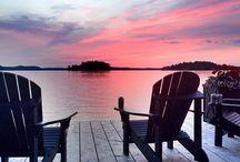 living at the lake