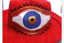 Tahados / Handpainted hats from Magadascar