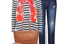 scarf outfit combi