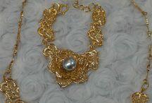 perhiasan set mutiara