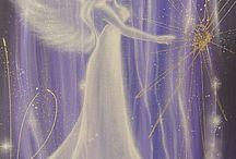 Engel In Acryl