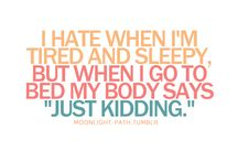 Sleep? Kidding***