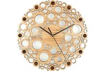 Wooden Wall Clocks / www.beamdesigns.co.uk - Our range of unique wall clocks are made from eco-friendly bamboo wood and make the perfect gift for a new home.