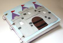 Castle pattern quiet books