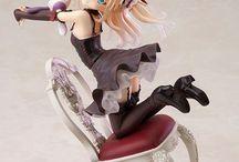 Anime figures/nendroids :P