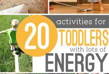 Actividades para niños activos