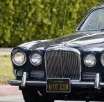 CAT DEELEY Cruising Around in Beverly Hills in  Jaguar