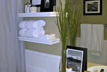 Salle d'eau / Idees pour une belle salle d'eau...Ideas for s beautiful powder room...
