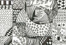 Zentangle Drawings