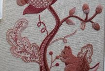 Embroidery - Crewel