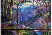 Stain Glass Painting & Mosaics