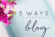 Blogging Tips  & Resources / This board features tips and tutorials on all aspects of blogging. It is aimed at those thinking of starting a blog, beginner and advanced bloggers, and at all niches of blogs.