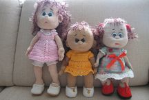 My handmade dolls and toys