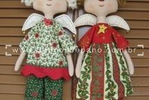 Tildas Navidad / by María del Carmen R.