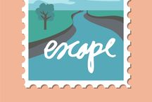 AED Pinterest Passport 2017 / This summer, I am back hosting a digital expedition to take you 'around the world' in 13 days collecting digital stamps to fill your AED Pinterest Passport. Not only will you have a chance to download a free digital file each day for THIRTEEN days, but there's an awesome opportunity to win a 6-month Story Kit™ Subscription. (Click the itinerary pin below to learn all about how to win!)