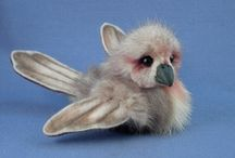 Birds / research for my future mink bird or fiber bird creations / by Kathy Myers