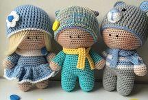 вязанные куклы