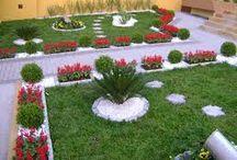 decoração de jardins / aqui você tera as melhores ideias de como decorar seu jardim de maneiras facies e baratas