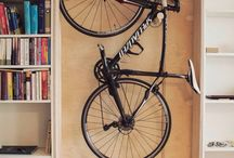 rower garaż