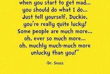 Dr.Suess wisdom