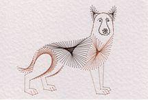 Dieren patronen kaarten