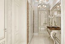 холл в классическом стиле