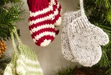 knit xmas decoration