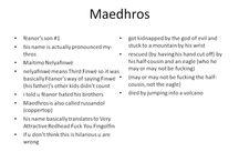 Noldors