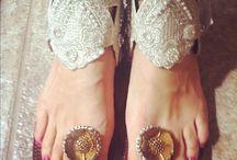 efeites de pés