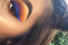 makeup / eye shadows and looks