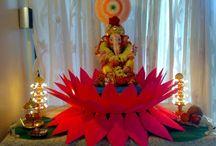 Ganapati, Diwali festival decoration