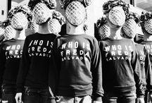 WHO IS FRĒDA SALVADOR?  / by FREDA SALVADOR