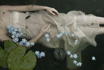 Ophelia / the girl who made flowers cry