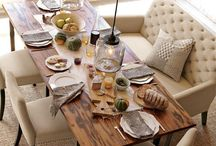 Dining rooms / by Debbie Williams