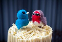 Cake Toppers / Love Birds