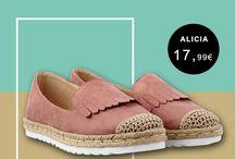 Alicia 17,99€ || Γυναικεία Flatform με ψάθα Ροζ