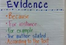 anchor charts- reading/writing