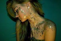I like, glitter...