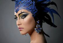 Hairdressing Major: Makeup / Avant Garde