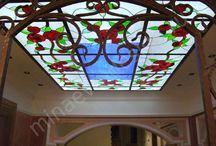 Tavan vitrayları
