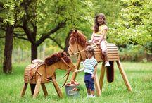 Holzpferd bauen