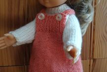 tricot poupée