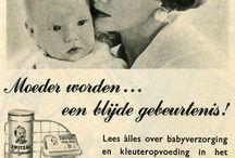 verzorging baby of zieke zoals het vroeger ging