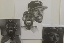 Fan Art / My drawings of my favorite athlete/celebrity- images are not for sale