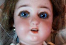 antique doll (1890/1906) / head: Simon  Halbig 1300 - 2 DEP body: automathon Roullet decamps - working!! acrobat with a key